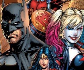 Первый кадр изанимационного фильма Batman and Harley Quinn