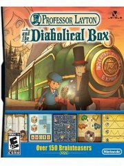 Обложка Professor Layton and The Diabolical Box