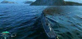 World of Warships. Демонстрация управления кораблем
