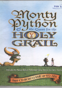 Обложка Monty Python & The Quest for the Holy Grail