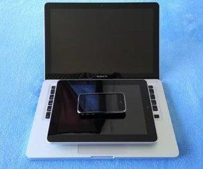 Apple думает, как превратить iPhone иiPad вполноценный ноутбук