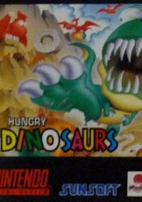 Обложка Hungry Dinosaurs