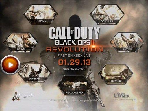 Call of Duty: Black Ops 2. Геймплейный трейлер DLC Revolution