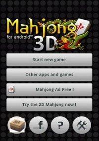 Обложка Mahjong3D