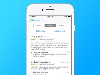 Разработчики теперь ответят на ваши отзывы в App Store