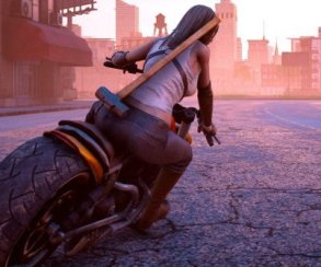 Road Rage объединяет насилие и мотоциклы