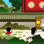 Скриншот Pucca's Kisses Game – Изображение 2