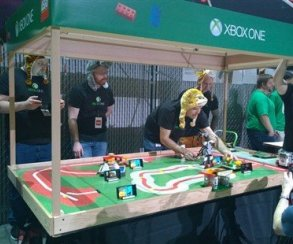 Microsoft воссоздала вживую Zoo Tycoon на турнире роботов LEGO
