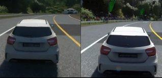 Driveclub VR. Сравнение графики