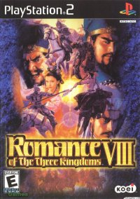 Обложка Romance of the Three Kingdoms VIII
