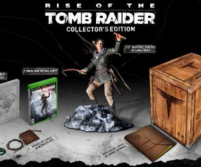 Коллекционное издание Rise of the Tomb Raider стоит $150