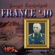 Обложка Panzer Campaigns: France '40