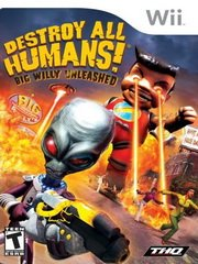 Обложка Destroy All Humans! Big Willy Unleashed