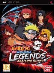 Обложка Naruto Shippuuden: Legends: Akatsuki Rising