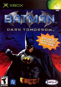 Обложка Batman: Dark Tomorrow