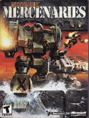 Обложка MechWarrior 4: Mercenaries