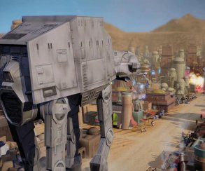 В Сеть утекли кадры стратегии по Star Wars с осадой Татуина