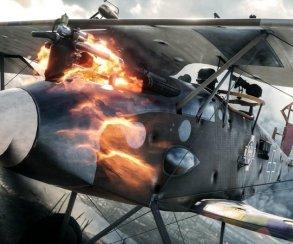 Гифка дня: как сбить самолет танком в Battlefield 1