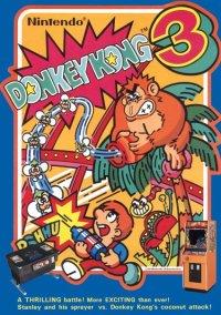 Обложка Donkey Kong 3