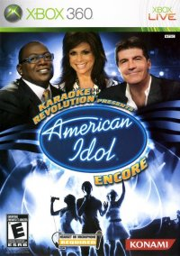 Обложка Karaoke Revolution Presents: American Idol Encore