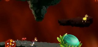 Rayman Jungle Run. Видео #1