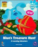 Обложка Blue's Treasure Hunt