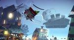 Йота парит на бумажном самолете на кадрах из Tearaway для PS4 - Изображение 8