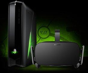Alienware предлагает комплект «игровой PC и Oculus Rift» за $1600