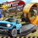 Скриншот 3D Monster Truck Parking Game – Изображение 3
