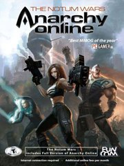 Обложка Anarchy Online: The Notum Wars