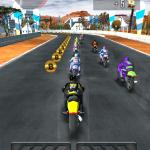 Скриншот Thumb Motorbike Racing – Изображение 2