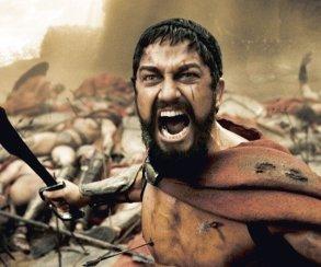 Гифка дня: скольких зомби смогут победить 300 спартанцев?