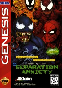 Обложка Spider-Man & Venom: Separation Anxiety