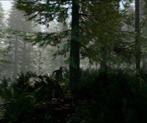Каннибалы бродят по лесу на кадрах из The Forest