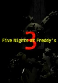 Обложка Five Nights at Freddy's 3