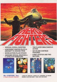 Обложка Aero Fighters