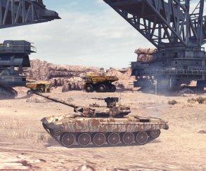 Началось тестирование Tank Domination на PC