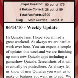 Скриншот US States Quizzle