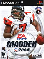 Обложка Madden NFL 2004