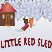 Обложка Little Red Sled
