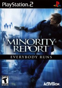 Обложка Minority Report: Everybody Runs
