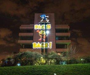 Маркетологи Namco Bandai направили Пакмена на штаб-квартиру Sega