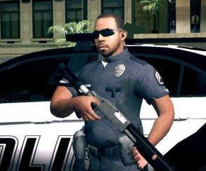 Гифка дня: эти копы совсем охренели (GTA 5)