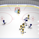 Скриншот Stickman Ice Hockey – Изображение 3