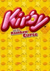 Обложка Kirby and the Rainbow Curse