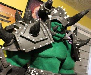 Правдивый костюм орка World of Warcraft опасен для жизни косплееров