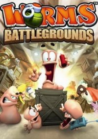 Обложка Worms Battlegrounds