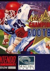 Обложка All-American Championship Football