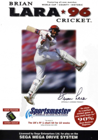 Обложка Brian Lara Cricket '96