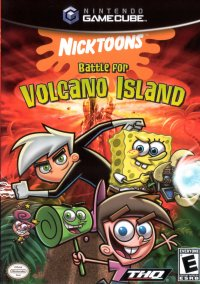 Обложка Nicktoons: Battle for Volcano Island